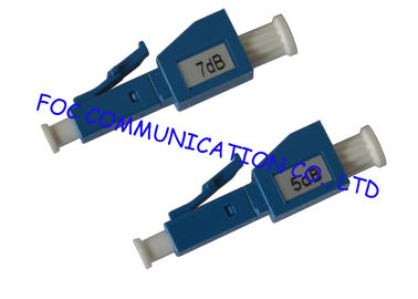 LC Fiber  Optic Attenuator Male to Female to Reduce Signal Power For Fiber Networks