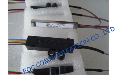 Ribbon Fan Out Fiber Plc Splitter 1 × 32 For Optical Signal Distribution